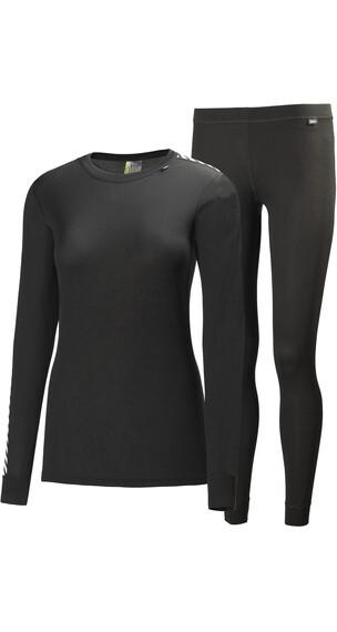 Helly Hansen W's Comfort Dry 2-Pack Base Layer Set Black